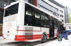 #Andorra #Escaldes #snow #neu #nieve #niege #bus #transporte #autocar #vehículos #publictransport