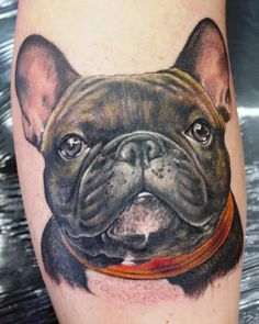 French Bulldog tattoo... OH I AM SO GETTING ONE OF THESE!! :  )