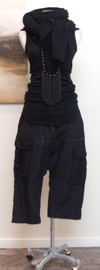 rundholz - Hose 7/8 Double black - Sommer 2014 - stilecht - mode für frauen mit…