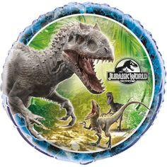 Check out Jurassic World 18 Foil Balloon - Discount Individualized Supplies from…