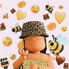 Roblox Funny, Roblox Roblox, Cute Tumblr Wallpaper, Funny Iphone Wallpaper, Cartoon Girl Drawing, Girl Cartoon, Cute Profile Pictures, Cute Pictures, Cool Avatars