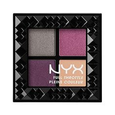 NYX Cosmetics Full Throttle Shadow Palette Bossy * To view further for this item, visit the image link. (This is an affiliate link and I receive a commission for the sales)
