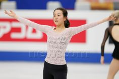 Mao Asada (JPN), March 24, 2014 - Figure Skating : Official training session at Sitama Super Arena during the ISU World Figure Skating Champ...