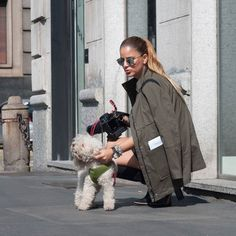 Sometimes you have to stop and pet a puppy... Before the Roccobarocco show in Milan fashion week.  @cgperson  #ootd #outfit #ootdmagazine #outfitoftheday #fashionista #streetstyle #fblogger #styleblog #aboutalook #fashiondiaries #whatiwore #wiw #wiwt #currentlywearing #outfitinspiration #lookoftheday #todaysoutfit #ootdfash #ootdshare #outfitpost #fashionpost #lotd #lookbook #styleoftheday #personalstyle #mystyle