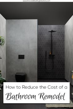 Cut the cost on your bathroom remodel! You NEED to check this article out. Bathroom Remodeling Contractors, Remodeling Costs, Remodeling Ideas, Bath And Shower Products, Next Bathroom, Shower Wall Panels, Shower Pan, Shower Surround, Glass Shower Doors