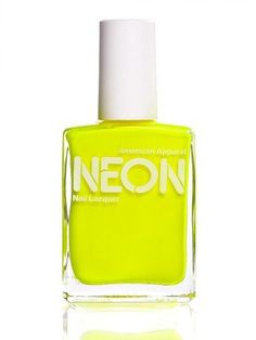 If anyone goes to American Apparel, please pick me up some Neon Nail Polish