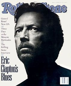 Eric Clapton in Rolling Stone Mag