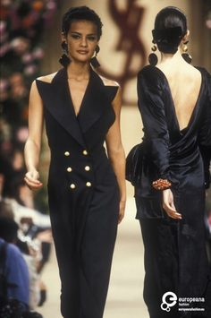 Yves Saint Laurent, Autumn-Winter 1992, Couture on www.europeanafashion.eu