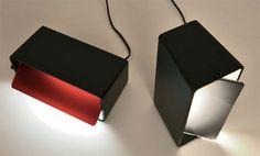 Boxx Table Lamp by Enrico Franzolini