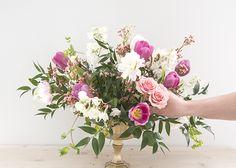 Spring Floral Series: The Low Wide Vase
