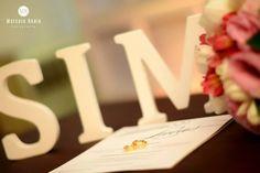 letras personalizadas em MDF SIM decoração casamento by blogoolhaisso