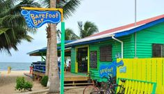 Barefoot Beach Bar in Placencia, Belize is movin' on up to the beach side!