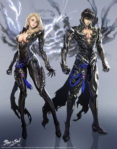 blade and soul anime Fantasy Characters, Female Characters, Anime Characters, Game Character, Character Concept, Concept Art, Fantasy Character Design, Character Inspiration, Blade And Soul Outfits