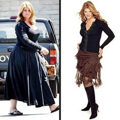 Kirstie Alley before and after
