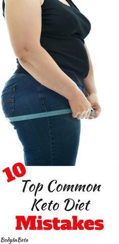 10 Top Common Keto Diet Mistakes