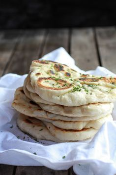 Homemade Naan (with step-by-step photos) | halfbakedharvest.com. This was fantastic. Will use it for Indian food and for gyros.