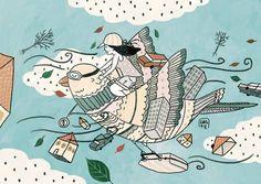 Imaginative Illustrations by Gizem Vural Digital Illustration, Really Cool Stuff, Cool Art, Art Projects, Pikachu, Snoopy, Art Prints, Poster, Illustrations