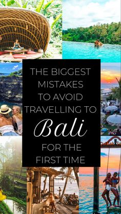 The 10 Biggest Mistakes People Make When Traveling to Bali for the First Time - JetsetChristina - Ubud - Bali Travel Guide, Travel Advice, Asia Travel, Travel Tips, Travel To Bali, Travel Packing, Time Travel, Van Travel, Travel Hacks