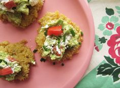 Cheesy Quinoa Cakes...emmm sound delicious!  Quinoa is so tastey and good for you :)