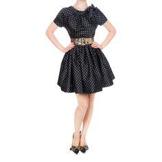 Cover Girl Dress short dots - Autumn Winter 2014/2015 - Online Store - Lena Hoschek Online Shop