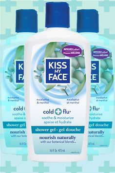 Kiss My Face cold and flu body wash is like emergen-c for your skin