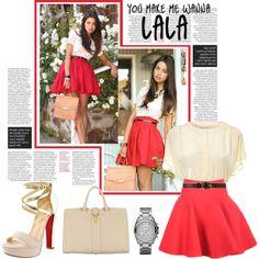 69. You make me wanna lala., created by dame-au-chocolate - cute skirt