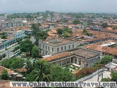 See from the high of pinar, The City. Pinar del Rio