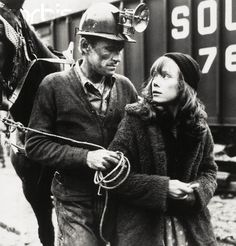 Levon Helm and Loretta Lynn in The Coal Miner's Daughter, 1980.