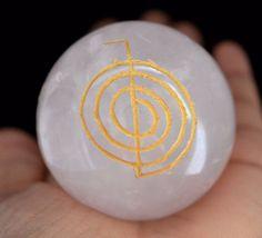 2525 Cts Elegant Rose Quartz Gemstone Ball Stone With Cho Ku Rei Size 46 mm E505 #valueforbucks
