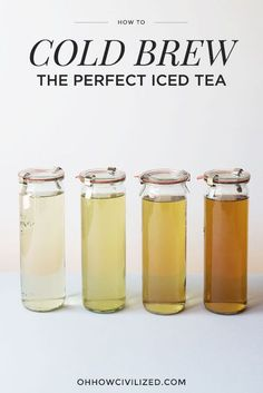 How to make the very best iced tea, every single time.