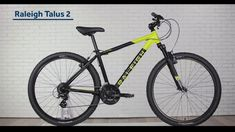 #Raleigh #Talus 2 #mountain #bicycle is all about the real fun on two wheels. It features a sturdy aluminum frame which can cruise.