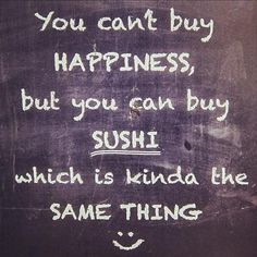 """Or substitute """"sushi"""" for poke', because you  had a lot of that in Hawaii and that made you very happy!  XOXO"""