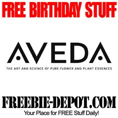FREE BIRTHDAY STUFF – Aveda invati – FREE BDay Gift – Birthday Freebie Full-Size Salon Product  #freebirthday