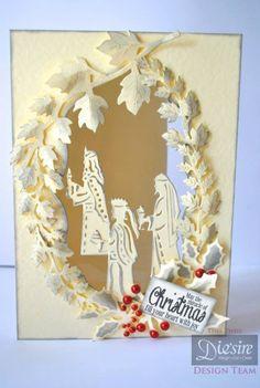 Die'sire Classiques Christmas Dies - Three Wise Men