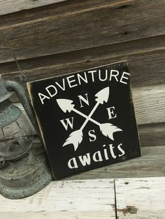 A personal favorite from my Etsy shop https://www.etsy.com/listing/279566016/adventure-awaits