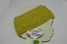 Tunesisch Häkeln - Stirnband Patentmuster -  Woolly Hugs SHEEP - Veronik...
