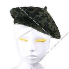 Vintage Unisex Men Women Wool Warm Felt French Beret Beanie Hat
