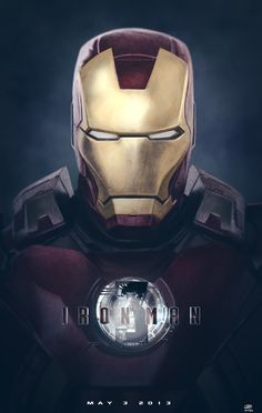 IRON MAN 3, Fan Poster - Cant wait