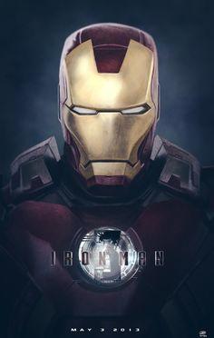 IRON MAN 3, Fan Poster