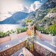 I checked into heaven at Villa Tre Ville, a private paradise Relais overlooking the Tyrrhenian Sea in Positano.