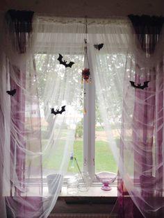Goth Room diy pastel goth easy room decor | paint drip vase & black & white