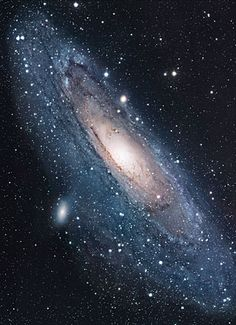 Image of M31 taken with a 12.5-inch Ritchey-Chrétien telescope by amateur astronomer Robert Gendler