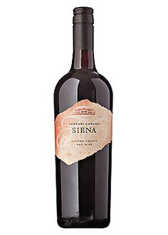 Ferrari-Carano Siena- this wine was great! Will definitely be getting this again!