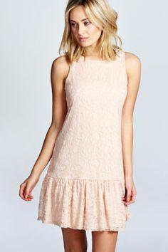Lizzie Lace Drop Waist Dress