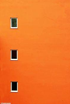 Orange Facade by Paolo Luxardo Orange Aesthetic, Rainbow Aesthetic, Aesthetic Colors, Aesthetic Pictures, Aesthetic Girl, Orange Pastel, Orange Color, Orange Orange, Yellow