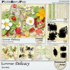 Summer Delicacy Bundle by PrelestnayaP Designs