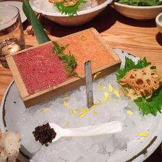 Tuna and salmon tartare w/ caviar - Yelp