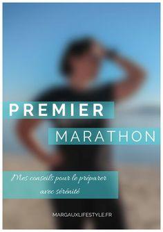 Premier Marathon | Mes conseils pour bien le pr�parer - Margaux Lifestyle Training Plan, Running Training, Marathon Preparation, Marathon Motivation, Marathon Running, Running Tips, Courses, How To Plan, At Home Workouts
