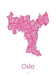 #Oslove - Oslo - Design by Odd