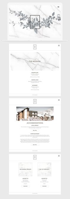 Squarespace Website Template for Photographers + Creatives - Aspen Wedding Inspiration Invitation Layout 55 Ideas For 2019 Source by wouawebformation Wedding Website Design, Simple Website Design, Modern Website, Wedding Designs, Luxury Website, Website Layout, Web Layout, Layout Design, Ppt Design